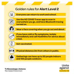 Volunteer Kāpiti and Alert Levels